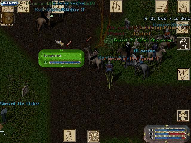 Гильдия GP [order]  побежали в букс убивать хаосов.. сразуже организованной толпой снесли - ничего не понимающего чела..