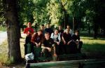Все только что собрались.(Встреча УОшников) Слева направо: Krendel, BatCop, Svetlogor, Flint, Karabaz, Black Wizard, Melondir, Mazay, Filimon, KyMaP. ( Snimok delal Kaddet)